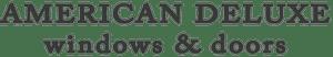 American Deluxe Windows and Doors Logo
