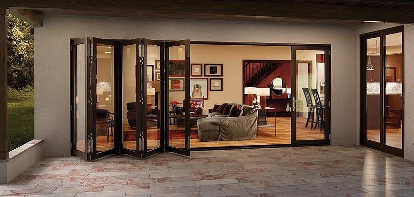 Folding Patio Doors American Deluxe, How Much Are Accordion Patio Doors