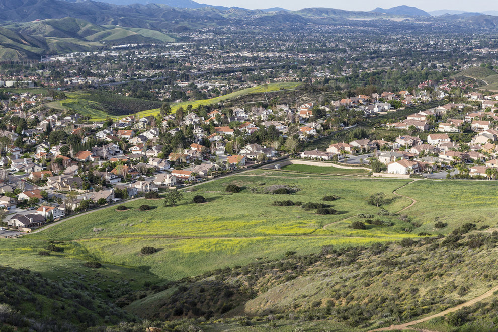 Aerial View of Simi Valley CA