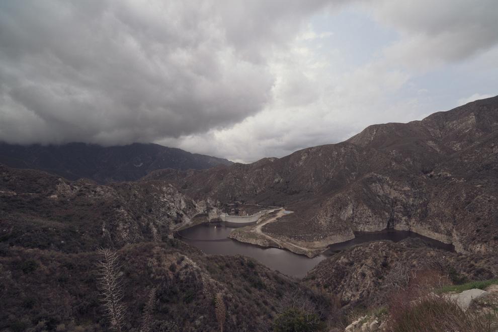 Aerial View of Tujunga CA Dam