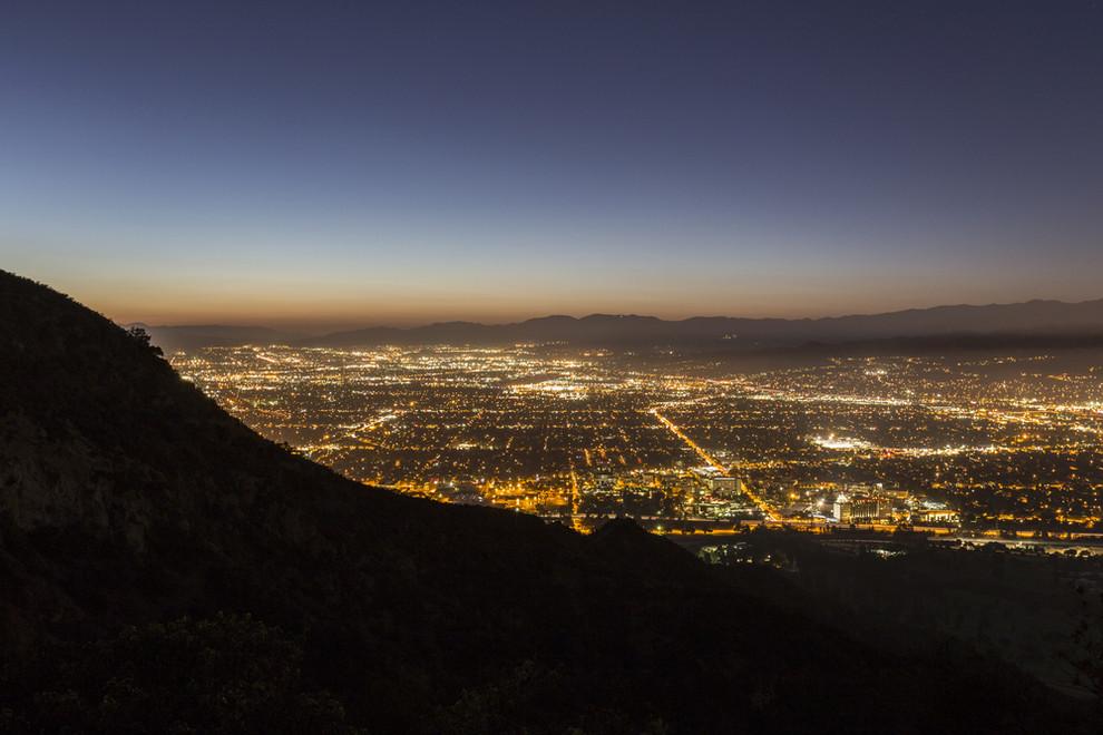 Aerial View of Valley Glen CA