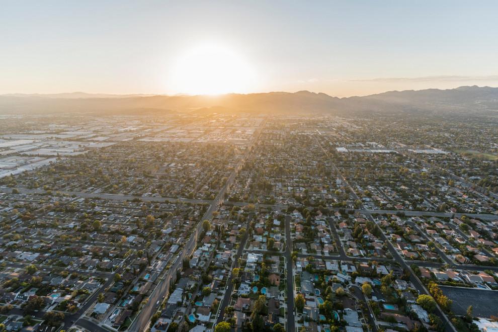 Aerial View of Winnetka CA