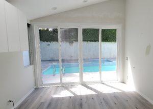 replacing Window into Sliding Patio door in Pacific Palisades (2)